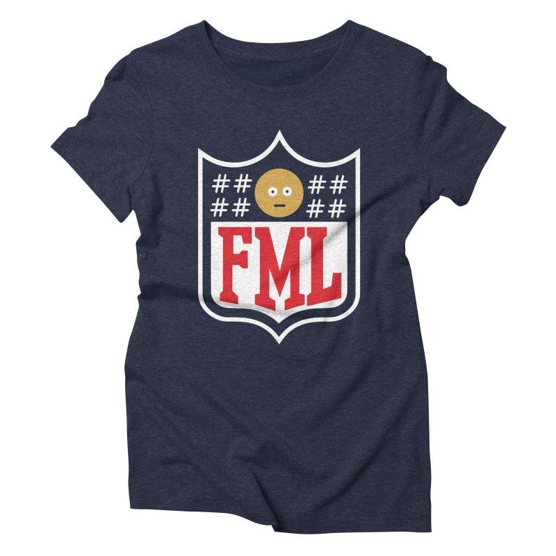 In my League Women's Triblend T-Shirt by shadyjibes's Shop