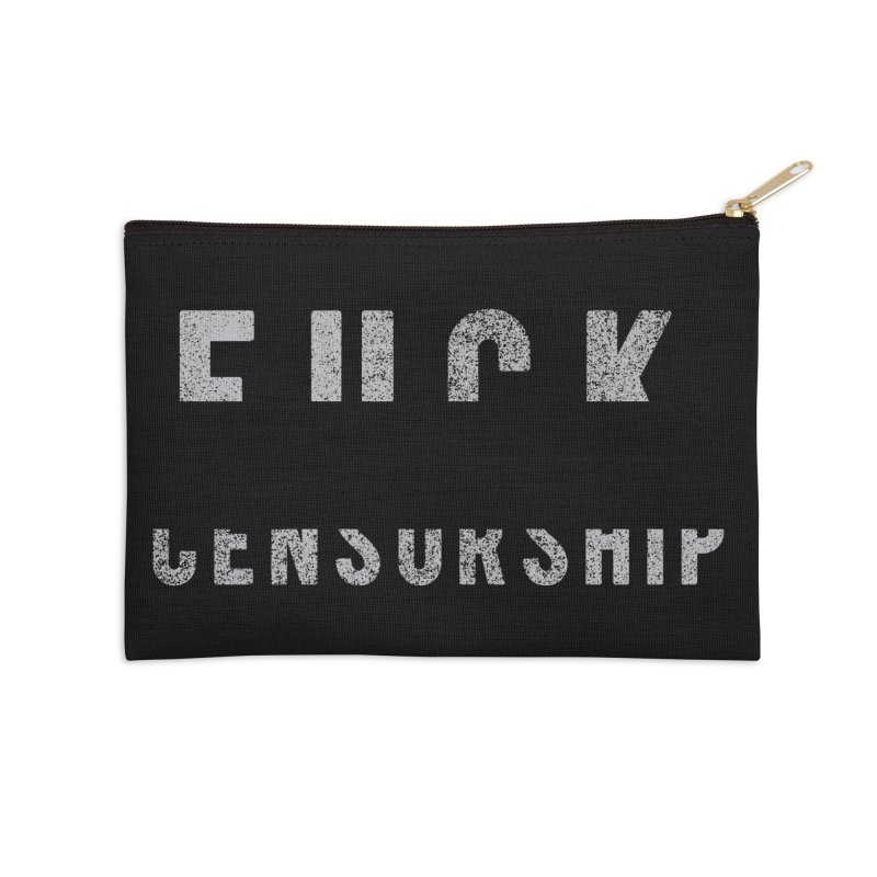 Censored Message Accessories Zip Pouch by shadyjibes's Shop