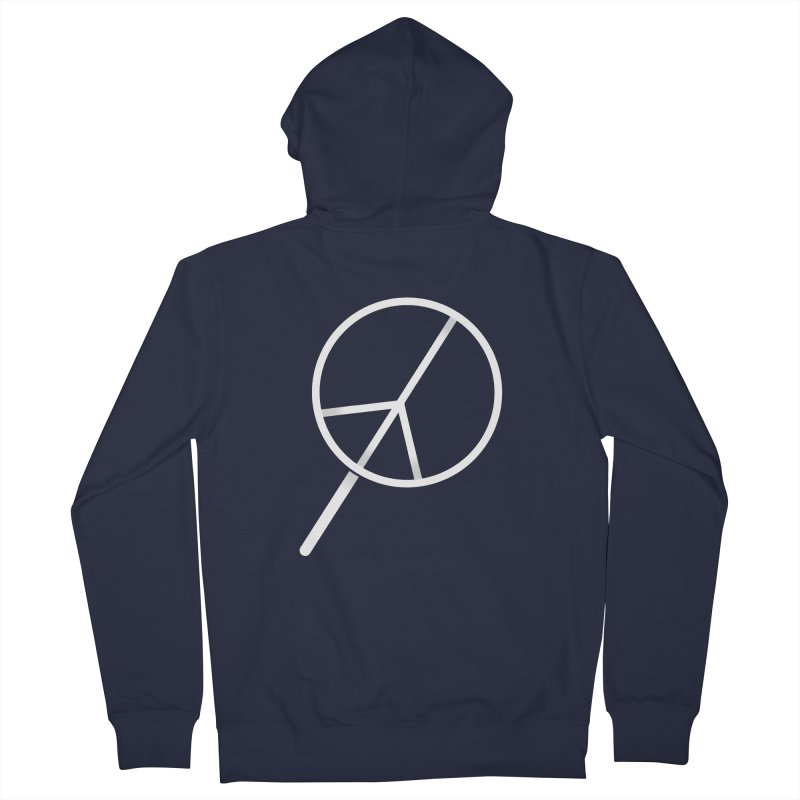 Searching...for Peace Women's French Terry Zip-Up Hoody by shadyjibes's Shop
