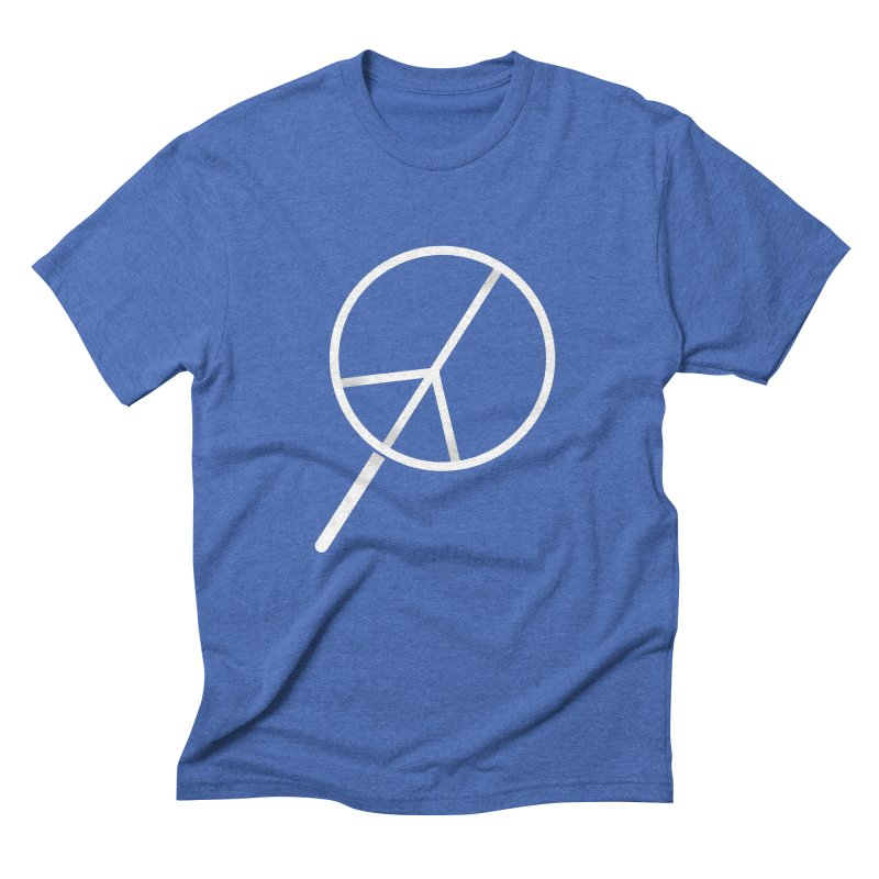 Searching...for Peace Men's Triblend T-Shirt by shadyjibes's Shop