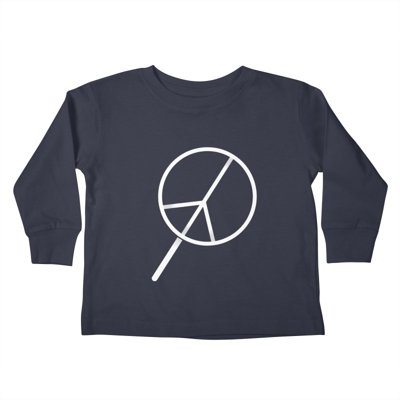 Searching...for Peace Kids Toddler Longsleeve T-Shirt by shadyjibes's Shop