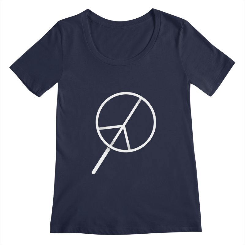 Searching...for Peace Women's Regular Scoop Neck by shadyjibes's Shop
