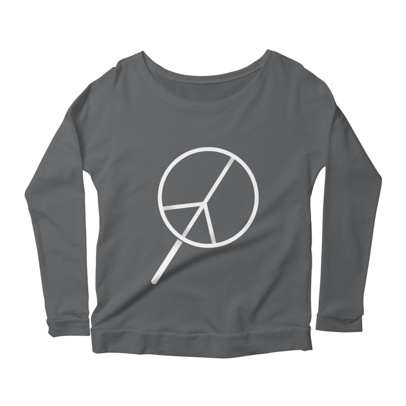 Searching...for Peace Women's Scoop Neck Longsleeve T-Shirt by shadyjibes's Shop
