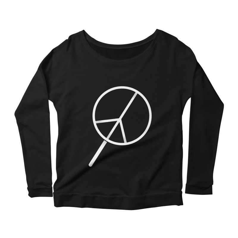 Searching...for Peace Women's Longsleeve Scoopneck  by shadyjibes's Shop