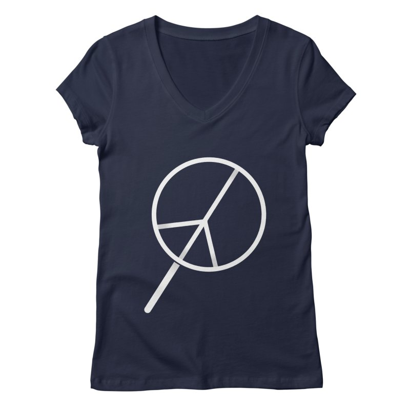 Searching...for Peace Women's V-Neck by shadyjibes's Shop