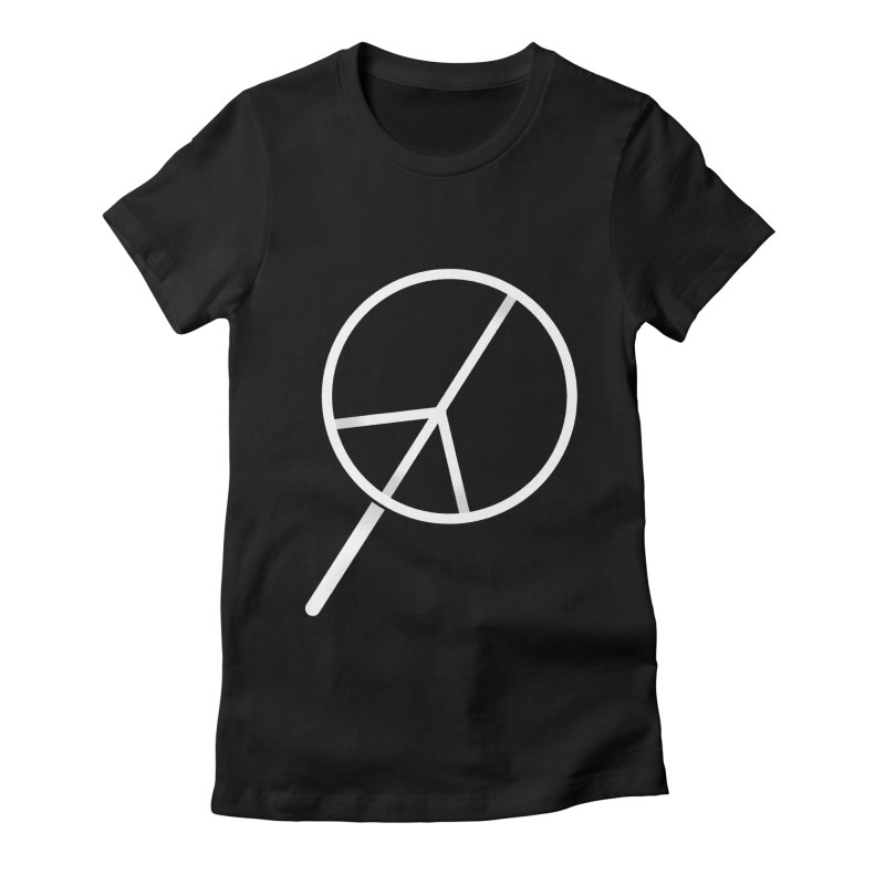 Searching...for Peace Women's Fitted T-Shirt by shadyjibes's Shop