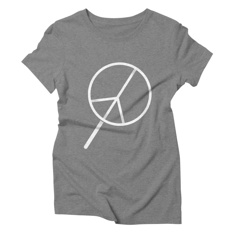 Searching...for Peace Women's Triblend T-Shirt by shadyjibes's Shop
