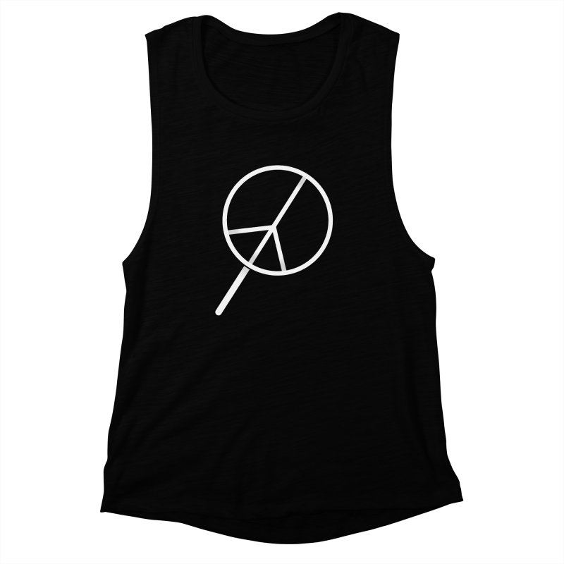Searching...for Peace Women's Muscle Tank by shadyjibes's Shop