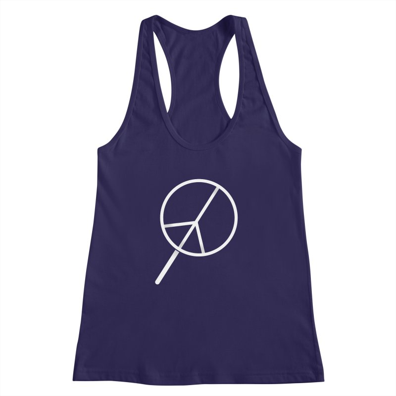 Searching...for Peace Women's Racerback Tank by shadyjibes's Shop