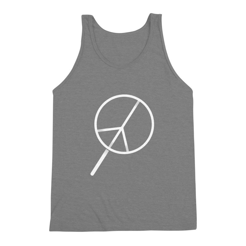 Searching...for Peace Men's Triblend Tank by shadyjibes's Shop