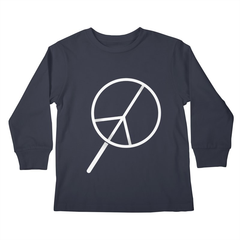 Searching...for Peace Kids Longsleeve T-Shirt by shadyjibes's Shop