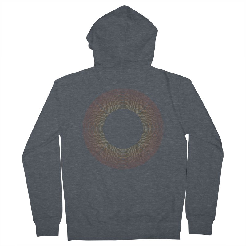 Solar Flare Men's French Terry Zip-Up Hoody by shadyjibes's Shop