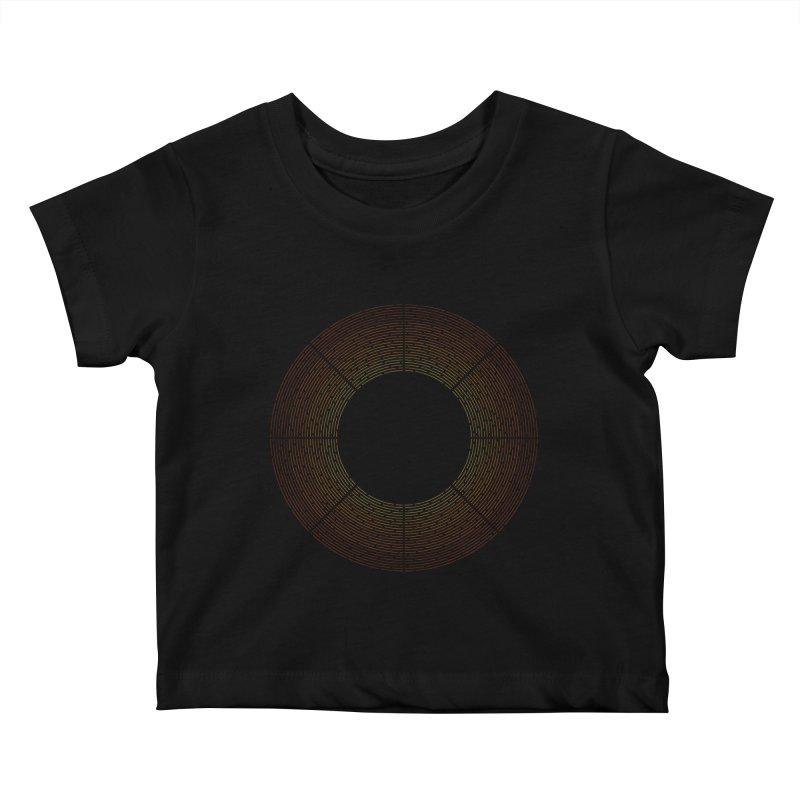 Solar Flare Kids Baby T-Shirt by shadyjibes's Shop