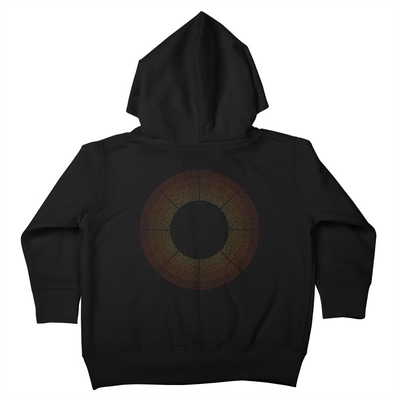 Solar Flare Kids Toddler Zip-Up Hoody by shadyjibes's Shop