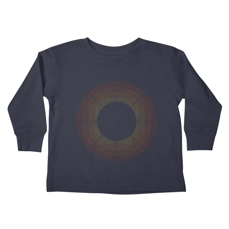 Solar Flare Kids Toddler Longsleeve T-Shirt by shadyjibes's Shop
