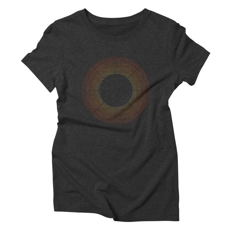 Solar Flare Women's Triblend T-Shirt by shadyjibes's Shop