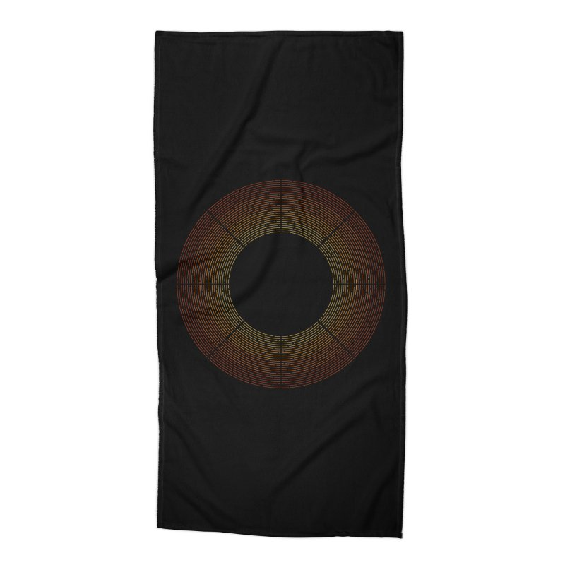 Solar Flare Accessories Beach Towel by shadyjibes's Shop