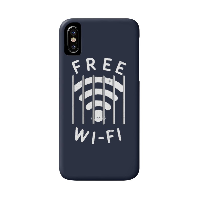 Free Wi-Fi Accessories Phone Case by shadyjibes's Shop