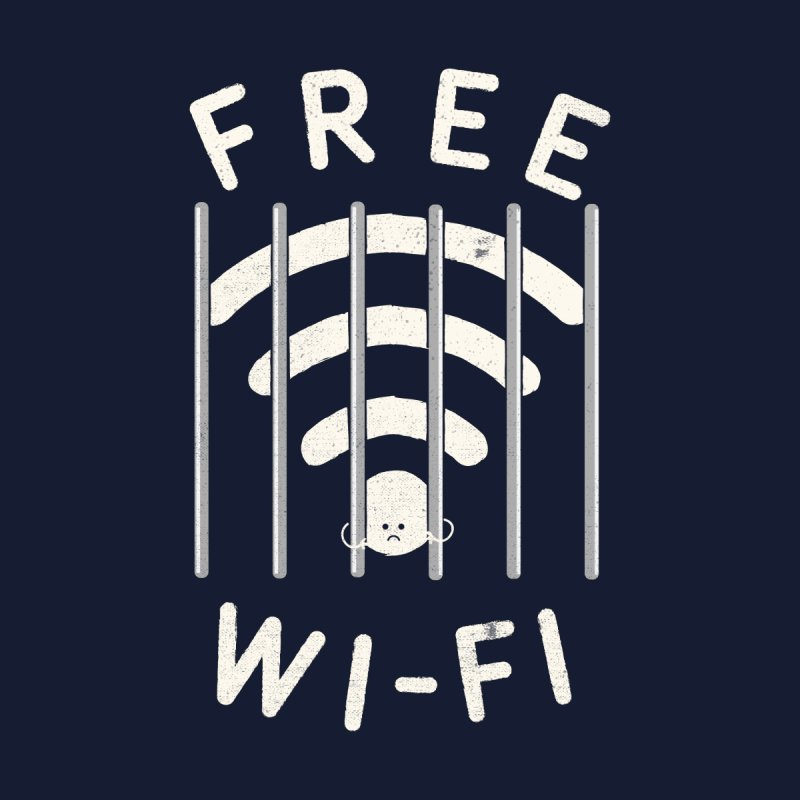 Free Wi-Fi Men's Sweatshirt by shadyjibes's Shop