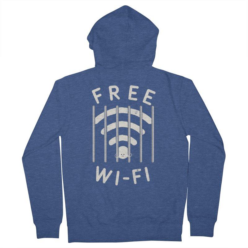 Free Wi-Fi Women's Zip-Up Hoody by shadyjibes's Shop