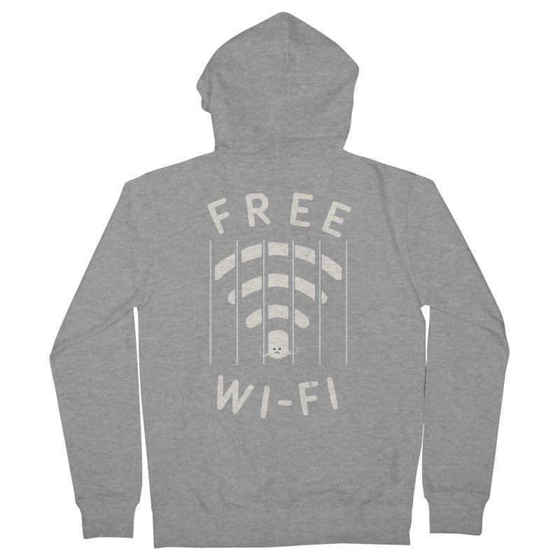 Free Wi-Fi Women's French Terry Zip-Up Hoody by shadyjibes's Shop