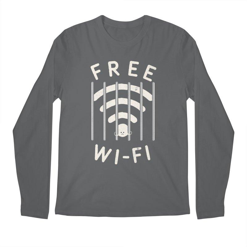 Free Wi-Fi Men's Longsleeve T-Shirt by shadyjibes's Shop