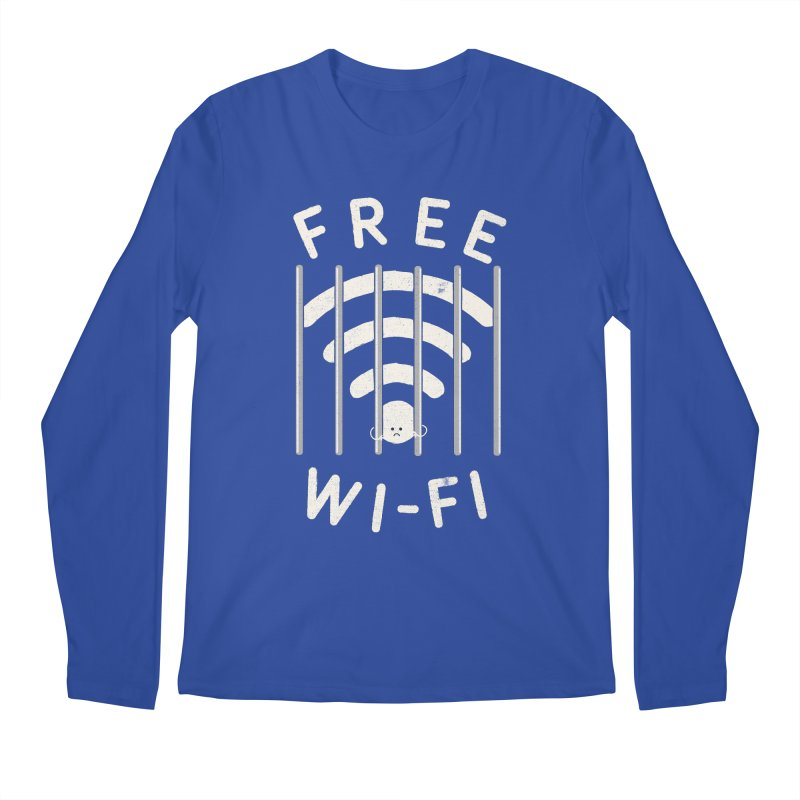 Free Wi-Fi Men's Longsleeve T-Shirt by shadyjibes's Shop