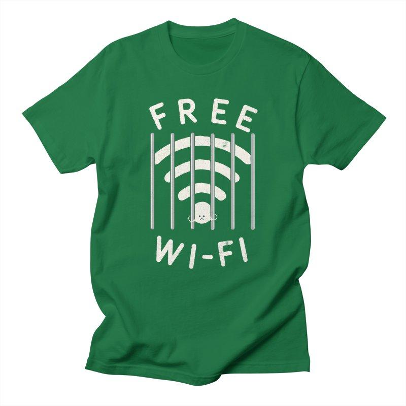 Free Wi-Fi Men's T-Shirt by shadyjibes's Shop