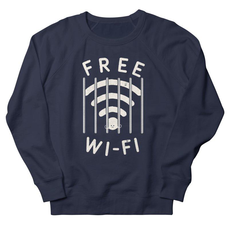 Free Wi-Fi Men's French Terry Sweatshirt by shadyjibes's Shop