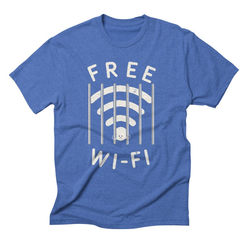 Free Wi-Fi Men's Triblend T-Shirt by shadyjibes's Shop