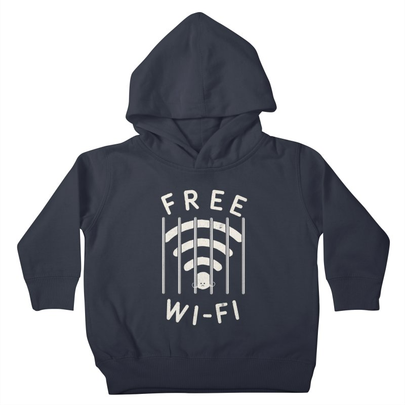 Free Wi-Fi Kids Toddler Pullover Hoody by shadyjibes's Shop