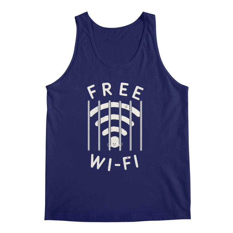 Free Wi-Fi Men's Regular Tank by shadyjibes's Shop