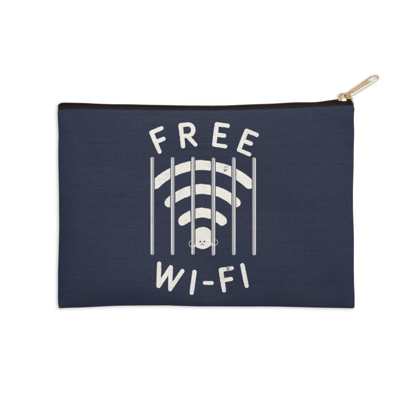 Free Wi-Fi Accessories Zip Pouch by shadyjibes's Shop