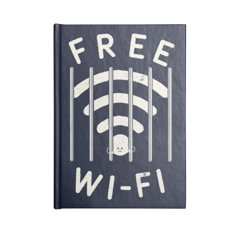 Free Wi-Fi Accessories Notebook by shadyjibes's Shop