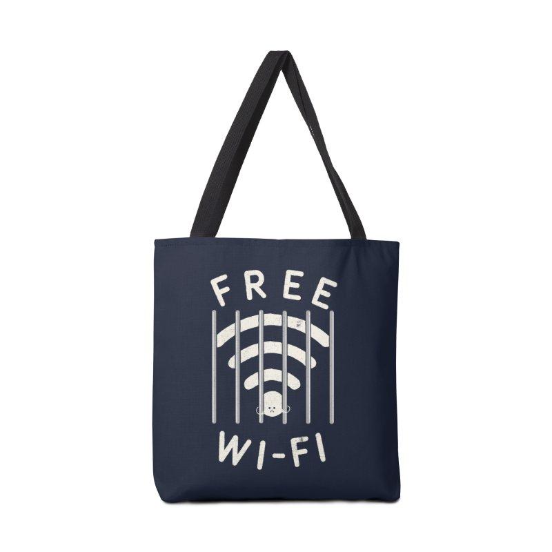 Free Wi-Fi Accessories Bag by shadyjibes's Shop