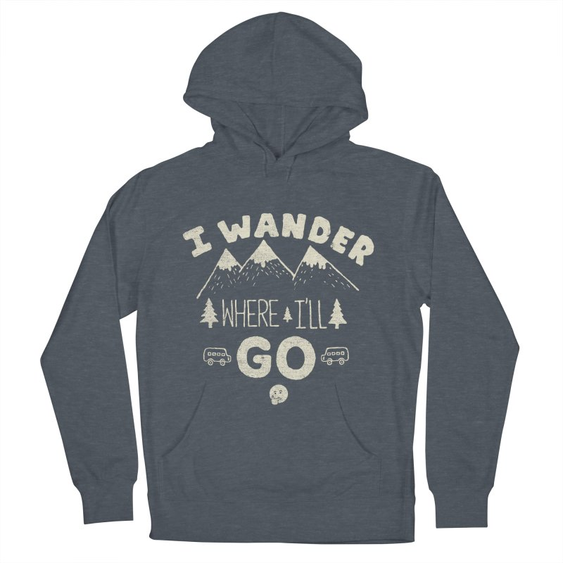 I wander Women's Pullover Hoody by shadyjibes's Shop