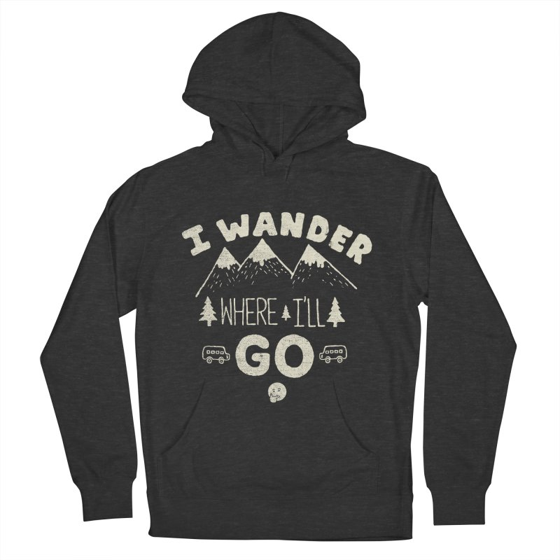 I wander Men's Pullover Hoody by shadyjibes's Shop