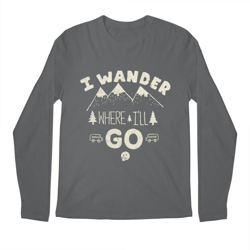 I wander Men's Longsleeve T-Shirt by shadyjibes's Shop