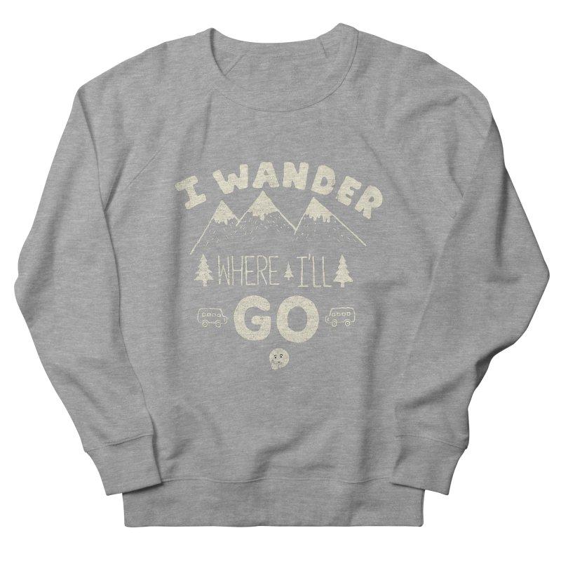 I wander Men's Sweatshirt by shadyjibes's Shop