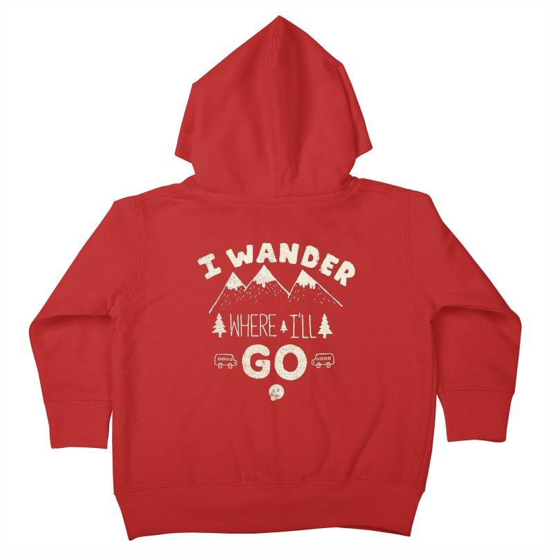 I wander Kids Toddler Zip-Up Hoody by shadyjibes's Shop