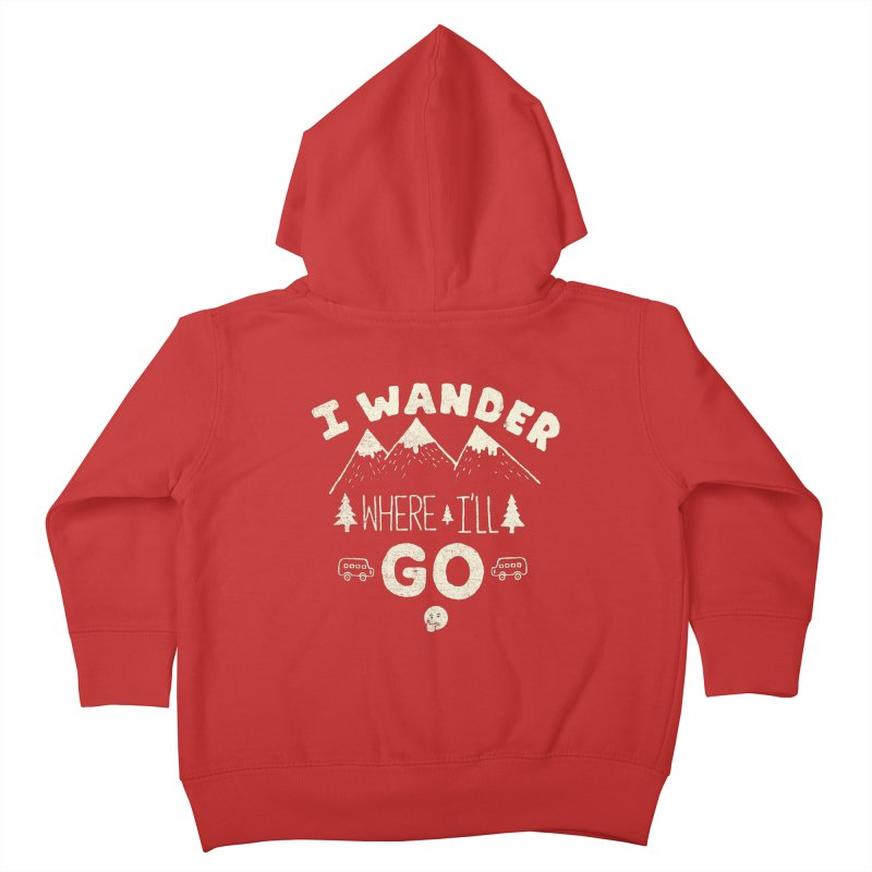 I wander Kids Toddler Zip-Up Hoody by shadyjibes's Shop