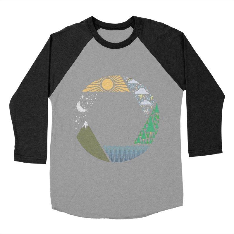 Capture Nature Men's Baseball Triblend Longsleeve T-Shirt by shadyjibes's Shop