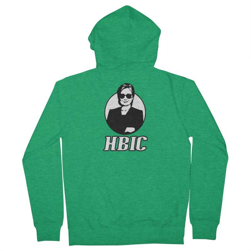 Hillary Clinton HBIC Men's Zip-Up Hoody by shaggylocks's Shop