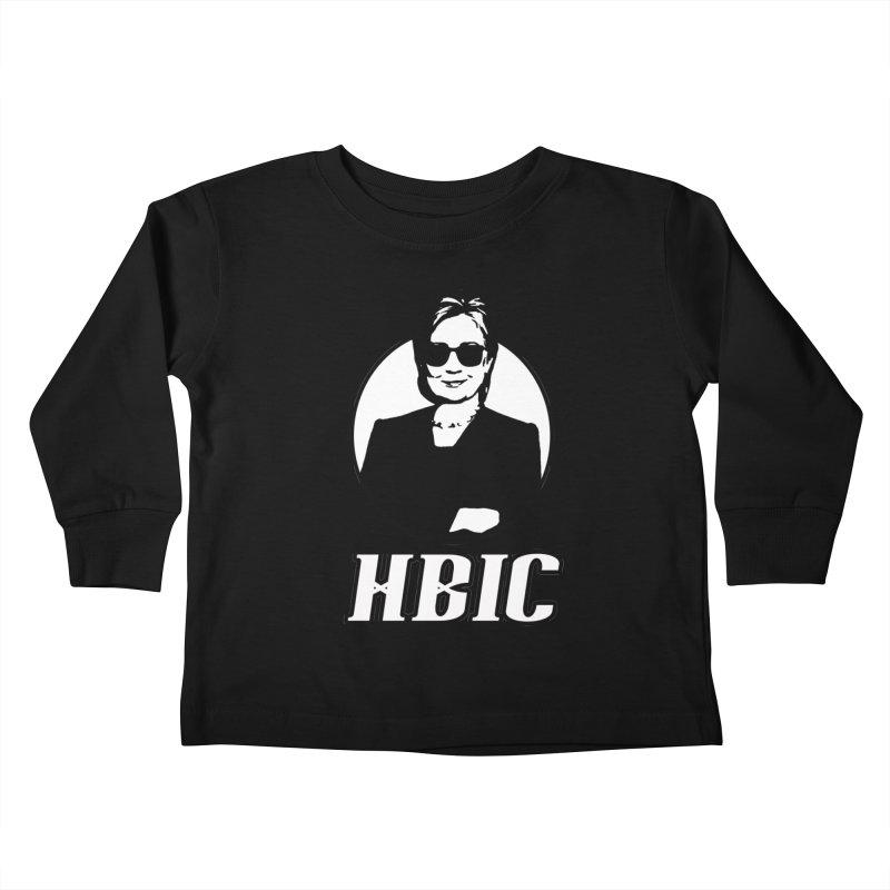 Hillary Clinton HBIC Kids Toddler Longsleeve T-Shirt by shaggylocks's Shop