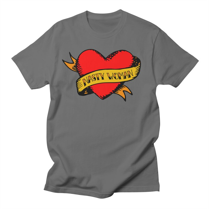 Hillary Clinton Nasty Woman Tattoo Men's T-Shirt by shaggylocks's Shop