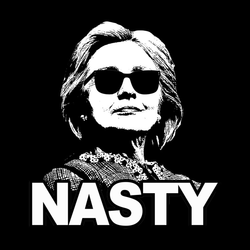 Hillary Clinton Nasty Woman Kids Longsleeve T-Shirt by shaggylocks's Shop