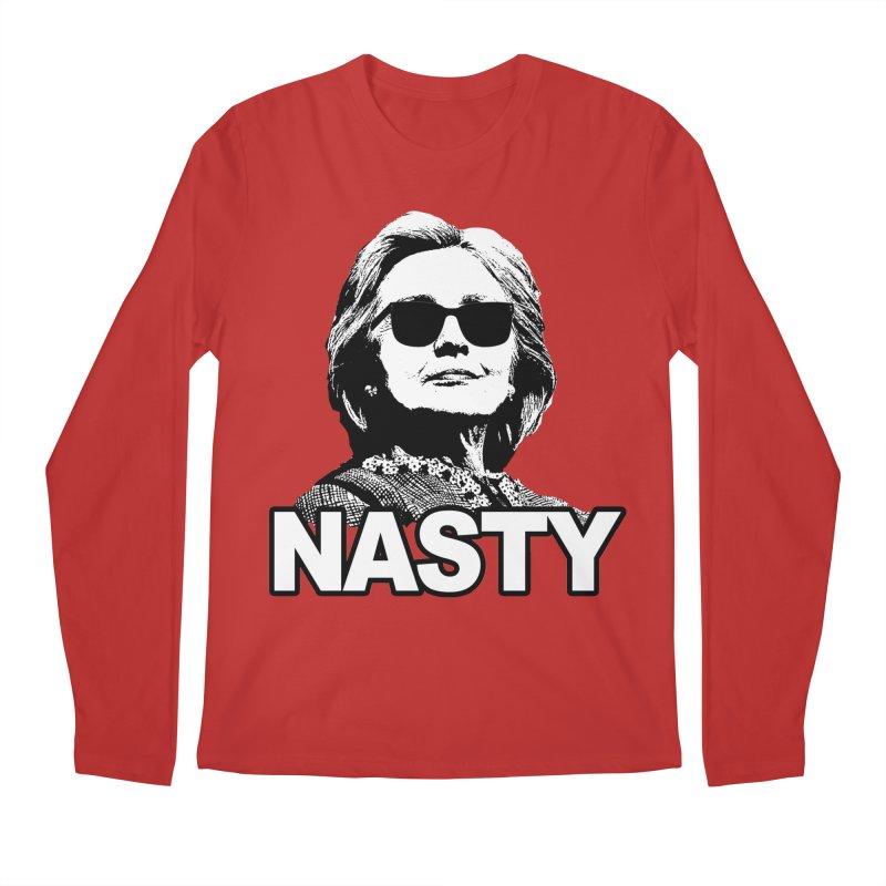 Hillary Clinton Nasty Woman Men's Longsleeve T-Shirt by shaggylocks's Shop
