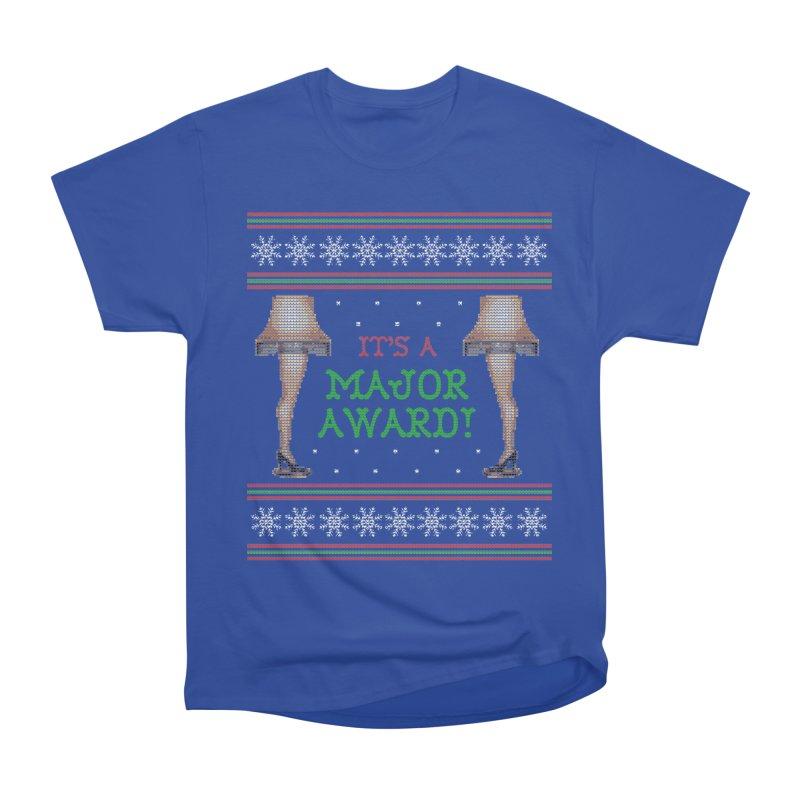 Christmas Story Leg Lamp - Ugly Christmas Sweater-Style Men's T-Shirt by shaggylocks's Shop
