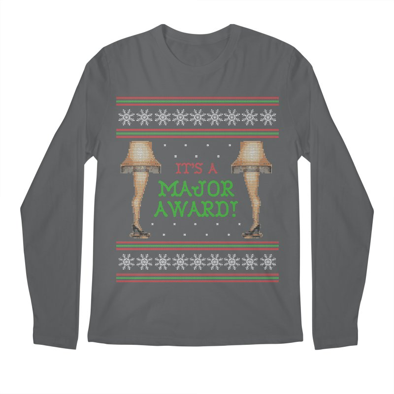 Christmas Story Leg Lamp - Ugly Christmas Sweater-Style Men's Longsleeve T-Shirt by shaggylocks's Shop