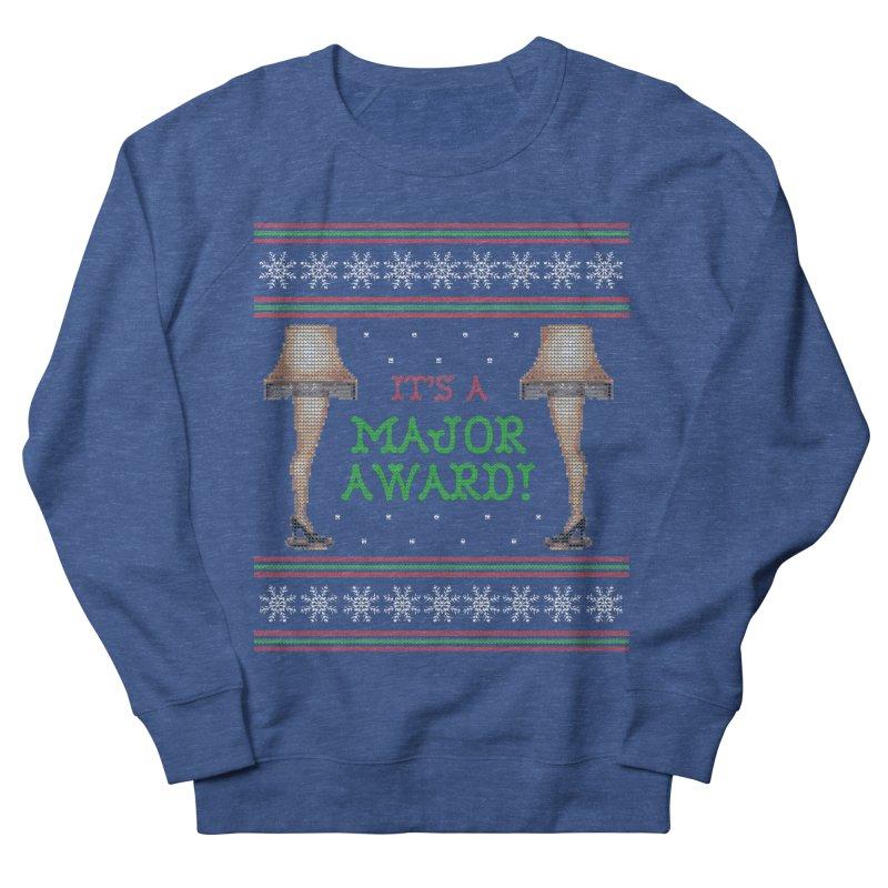 Christmas Story Leg Lamp - Ugly Christmas Sweater-Style Women's Sweatshirt by shaggylocks's Shop